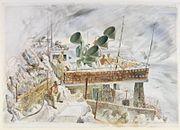 Listening-post at Spyglass, Gibraltar Art.IWMARTLD3562