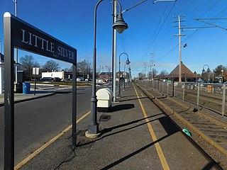 Little Silver station NJ Transit rail station