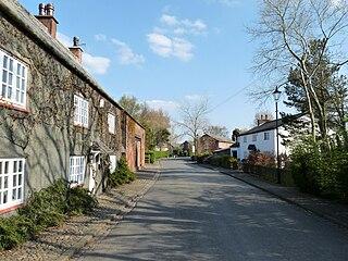 Sollom Human settlement in England