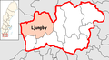 Ljungby Municipality in Kronoberg County.png