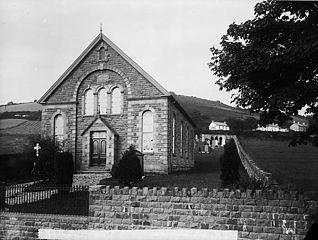 Llwynrhydowen new chapel (Unit), built 1879