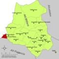 Localització de Vilanova de la Reina respecte de l'Alt Millars.png