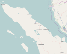 BTJ is located in Northern Sumatra