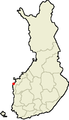 Location of Korsnas in Finland.png