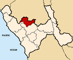 Location of the province Gran Chimú in La Libertad.PNG