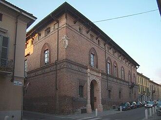 Giovanni Battagio - Palazzo Mozzanica in Lodi.