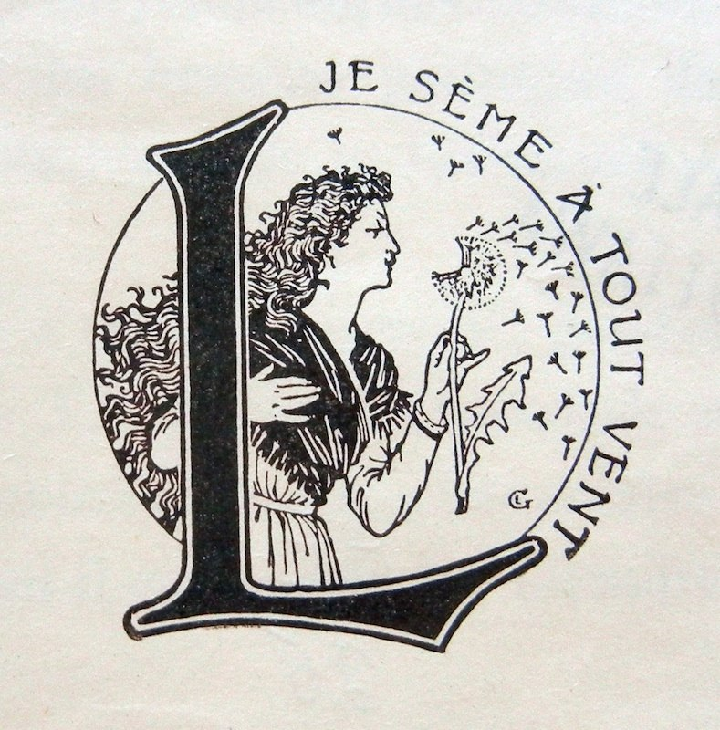 Logotype de Larousse par E. Grasset