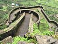 Lohagad Fort, A view from Top.jpg
