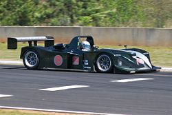 A Lola B2K/10 currently used in Historic Sportscar Racing.