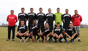 London City Soccer Club - 2012 squad under the new ownership.