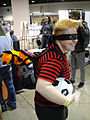 Long Beach Comic & Horror Con 2011 - Calvin and Hobbes (6301174983).jpg
