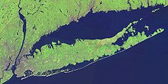 Long Island (NASA Landsat)