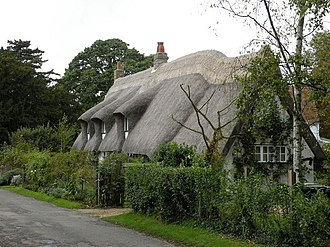 Balsham - Image: Long Thatch, Church Lane geograph.org.uk 995361
