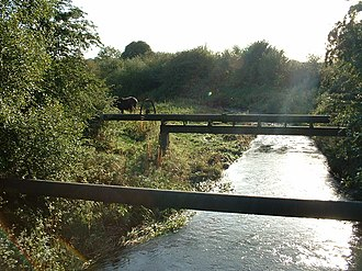 River Roch - Image: Looking downsteam from Smallbridge