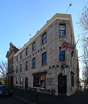 Millers Point, New South Wales - Image: Lord nelson hotel rocks