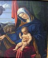 Lorenzo lotto, madonna col bambino e s. pietro martire, 1503, Q55, 02.JPG