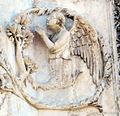 Lorenzo maitani e aiuti, scene bibliche 3 (1320-30) 09angelo.jpg