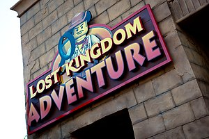Lost Kingdom Adventure - Lost Kingdom Adventure at Legoland Florida