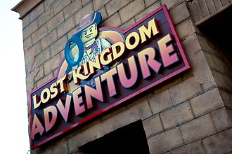 Legoland Florida - Lost Kingdom Adventure