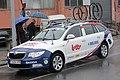 Lotto-Belisol car, Milan-Sanremo 2013, Savona.jpg