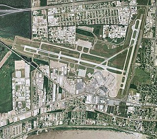 airport near New Orleans, LA, USA