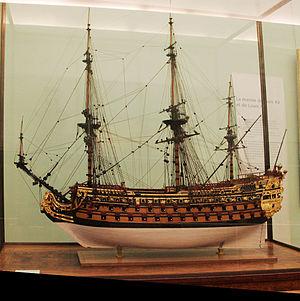 Louis Quinze (ship model) - Image: Louis Quinze mp 3h 9290