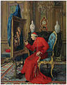 Louis Van Hoorde - The art loving cardinal.jpg