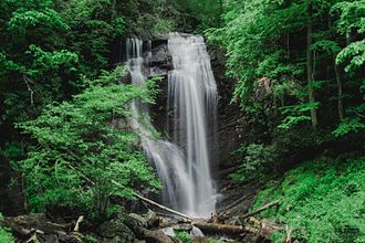 Anna Ruby Falls - Lower Falls