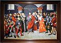 Lucas cranach il giovane, (bottega), cristo e l'adultera, 1549.jpg