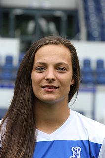 Lucie Voňková Czech footballer