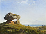 Lundbye, Johan Thomas - En gravhøj fra oldtiden ved Raklev på Refsnæs.jpg