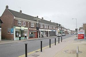 Highcliffe - Highcliffe, town centre