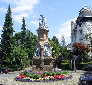 Wilhelm Albermann - Wilhelm Albermann (1897), Märchenbrunnen in Wuppertal