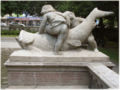 München Vater-Rhein-Brunnen e Inschrift links.jpg