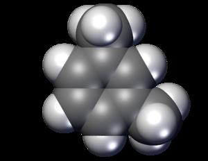 M-Xylene - Image: M xylene space Filling