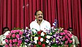 M. Venkaiah Naidu addressing at the inauguration of the PPP Hemodialysis Unit, in Tirupathi, Chitoor district in Andhra Pradesh.jpg