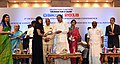 M. Venkaiah Naidu felicitating the women who have survived acid attack and got their vision restored, at the OSKON 2018 (Ocular Surface and Keratoprosthesis Conference), organised by Sankara Netralaya, in Chennai (1).JPG