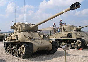 Super Sherman - Sherman M-51.