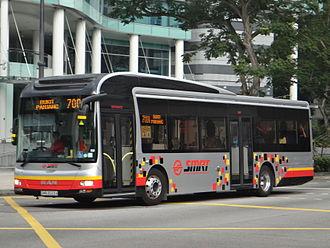 SMRT Buses - Image: MANA22 SMRT Gemilang New Livery