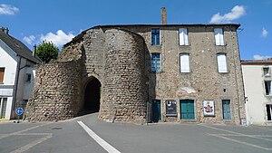 Mauléon, Deux-Sèvres - The old fortified gate, in Mauléon