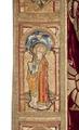 MCC-21485 Rode koorkap met verrijzenis op schild, aurifriezen met Bonifatius, Augustinus en Barbara (10).tif