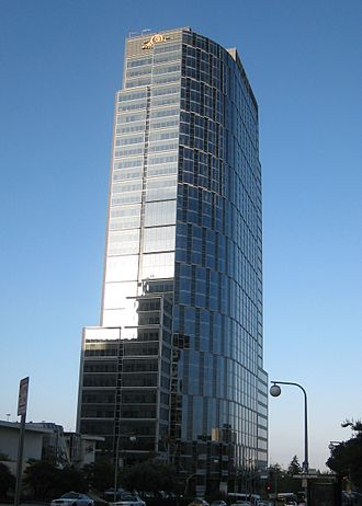 ICM Partners - Constellation Place (formerly the MGM Tower), the headquarters of the firm