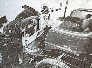 The Wolseley Sheep Shearing Machine Company - Austin's first Wolseley four-wheel car 1899
