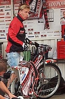 Michael Jepsen Jensen Danish speedway rider