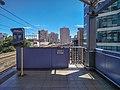 MRT2 Gilmore station westward RoW.jpg
