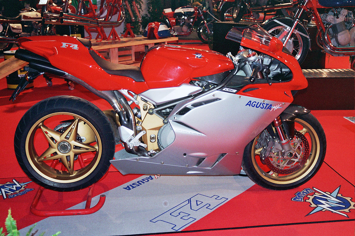 Mv Agusta F4 Series Wikipedia 2006 Zx 14 Headlight Wiring Diagram