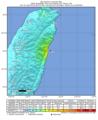 M 6.1 - 9km E of Hualian, Taiwan Intensity.png