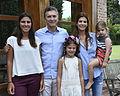 Macri con las hijas del Fiscal Nisman 02.jpg