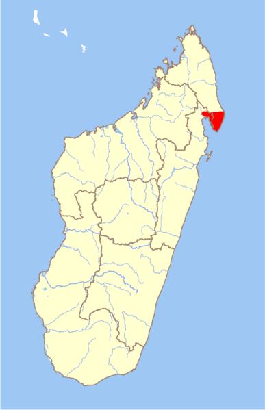 File:Madagascar Varecia rubra range.png
