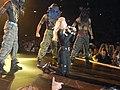 Madonna The MDNA Tour Papa Don't Preach performance.jpg